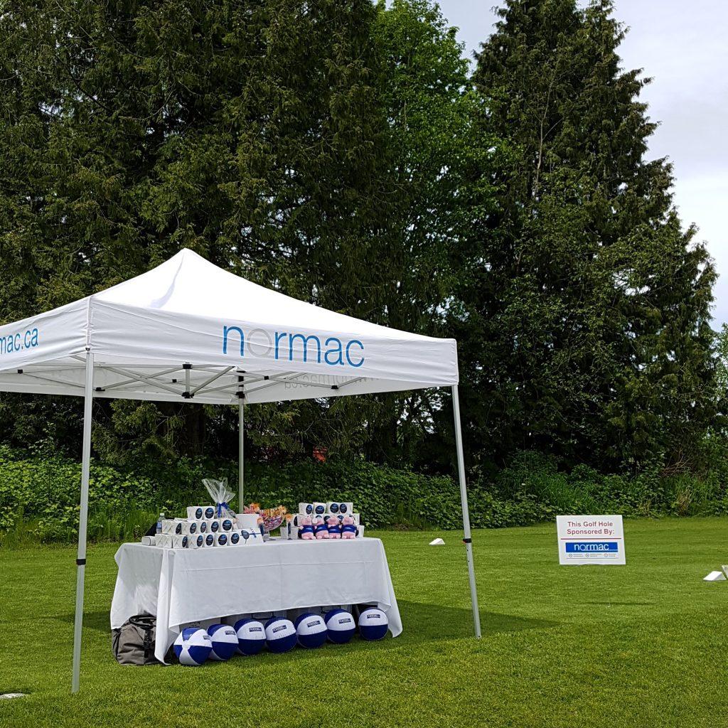 Platinum Sponsor Normac at IREM Golf Tournament
