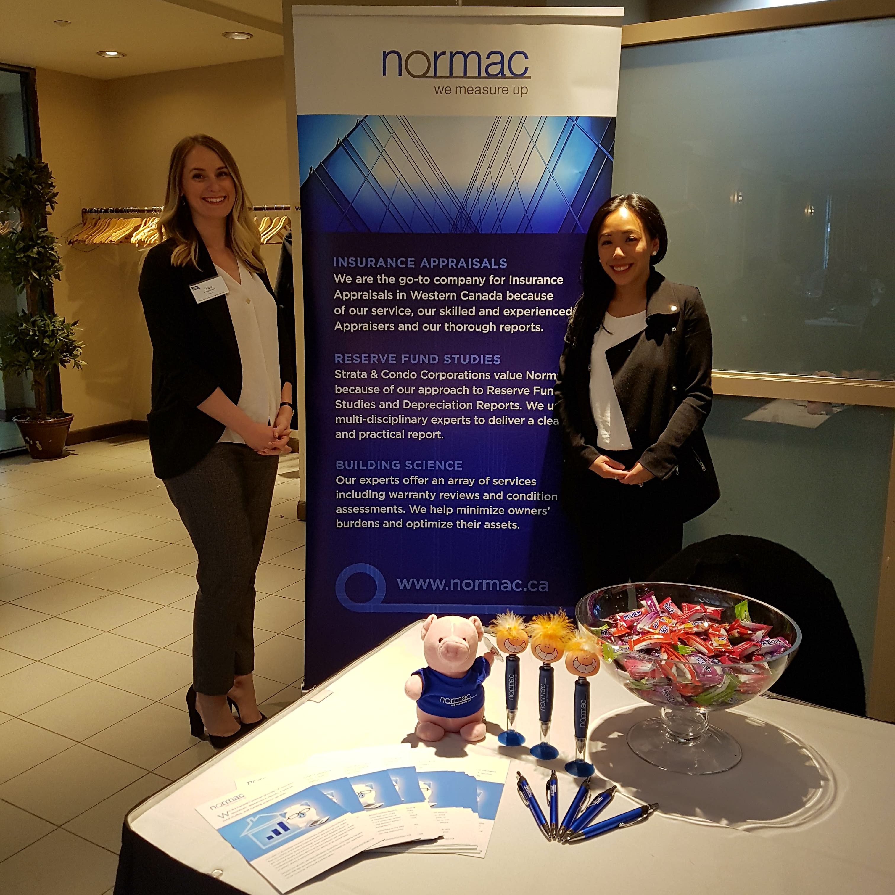 Margarita and Nicole at Normac sponsored PAMA Seminar